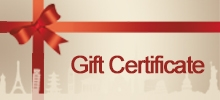 Travel Gift Certificates